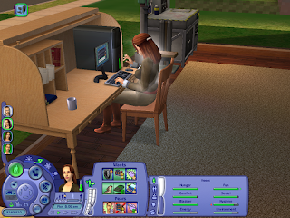 "Crystal Rose is ""in the zone"" on Sims 2 as she blogs about tinkering"