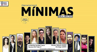 Improvisaciones Minimas 2018 Poster 1