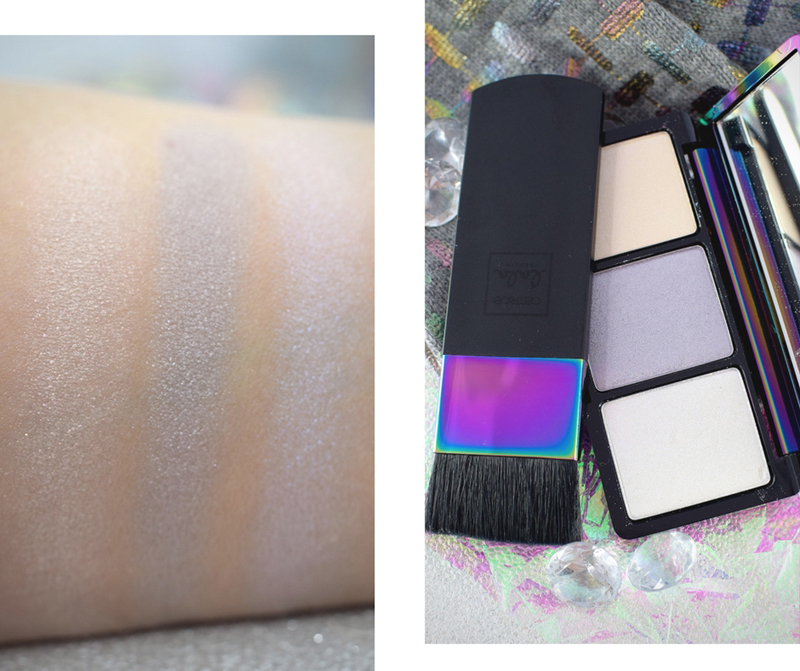 Die Prismatic Highlighter Palette der Catrice Lala Berlin LE, Test