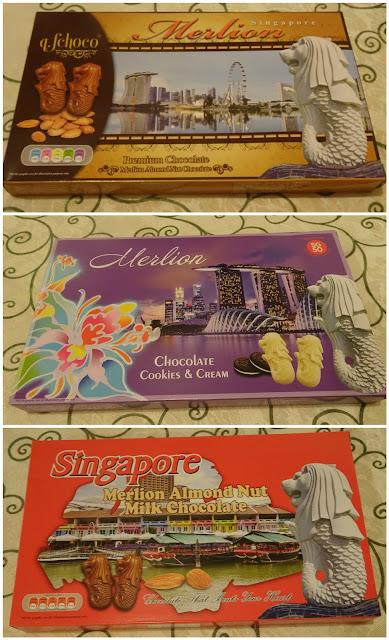 [開箱] 新加坡魚尾獅造型巧克力/Merlion Chocolate @ 餓之華小劇場 - losnaker的吃喝玩樂老實說