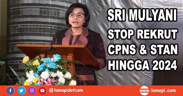 Sri Mulyani Setop Penerimaan CPNS dan STAN Hingga 2024