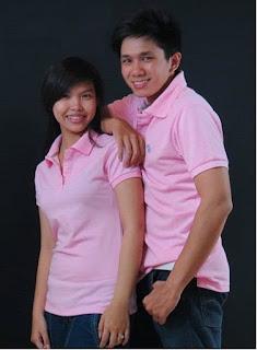áo thun nam màu hồng