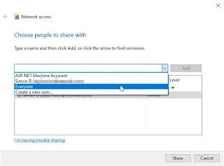 Membuat File atau Folder Menjadi Publik