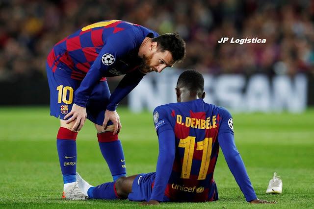La duodécima lesión de Dembelé le impedirá jugar con el Barça lo que resta de temporada y….