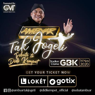 Konser Ambyar Tak Jogeti Tribute to Didi Kempot Stadion Utama GBK