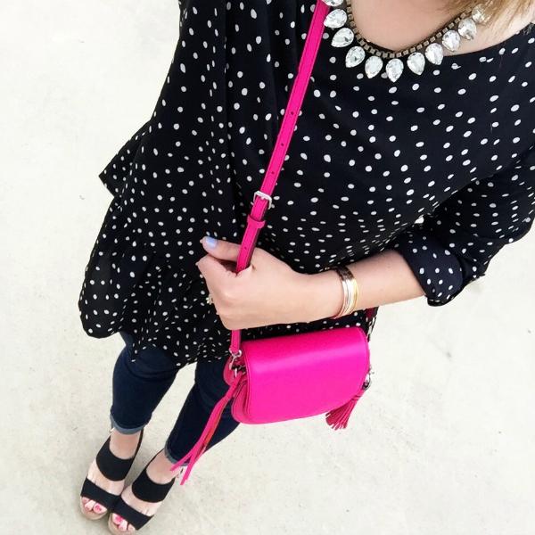 rebecca minkoff, pink purse