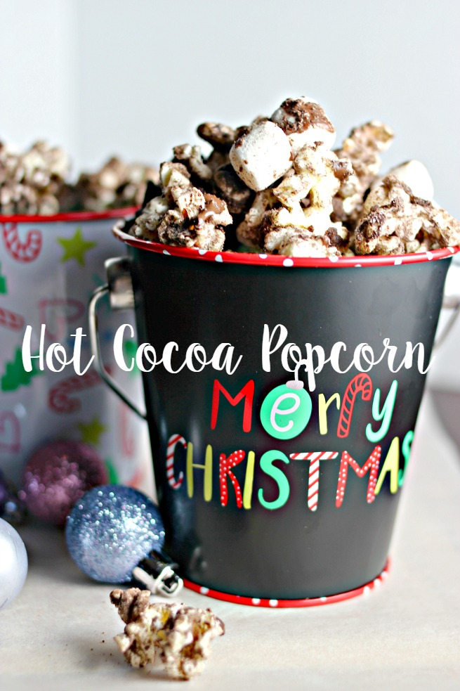 Hot Cocoa Popcorn Recipe (Best Treat For a Movie Night In)