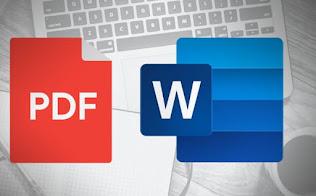 Cara Mengubah PDF ke Word di PC tanpa dan dengan software