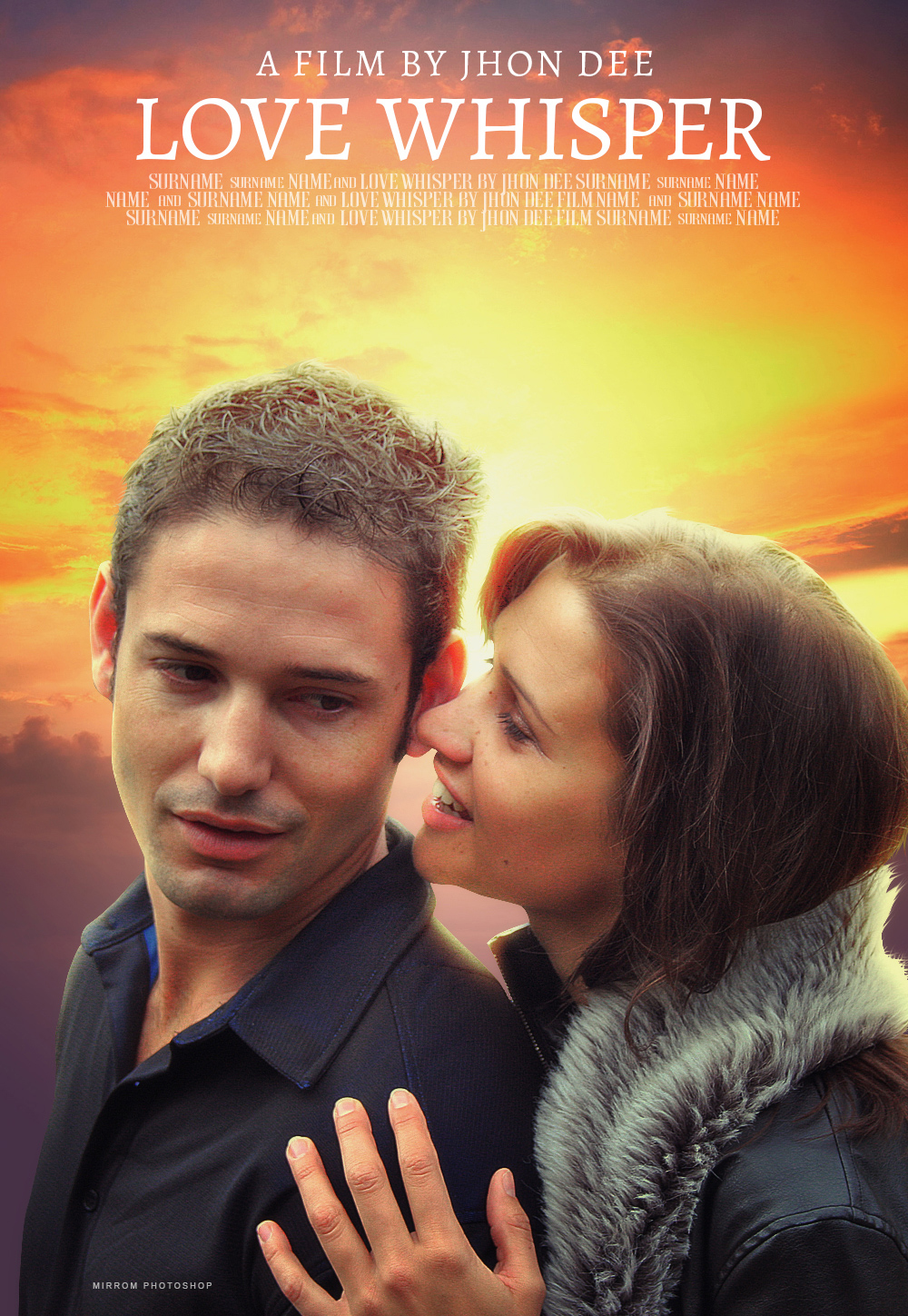 Create a Simple Romantic Movie Poster in Photoshop CC