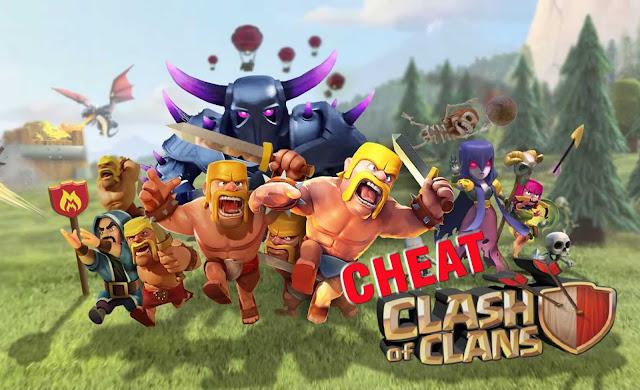 Bermain game clash of clans tanpa cheat rasanya kurang seru Mod Cheat COC Unlimited Gems, Elixir, Coin dan Semuanya Tanpa Root