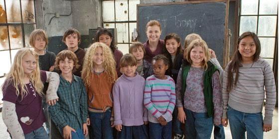 filme baseado em uma história real crianças alunos abrigo sala de aula professora