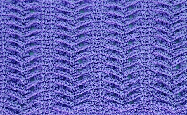 2-Imagenes Crochet Puntada de espiga a crochet y ganchillo por Majovel Crochet