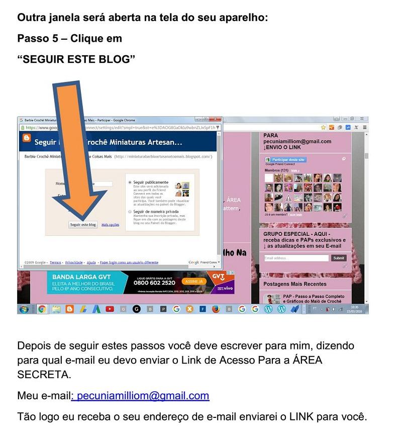 Como se Inscrever na Área Secreta do Blog  Passo a Passo - Tutorial