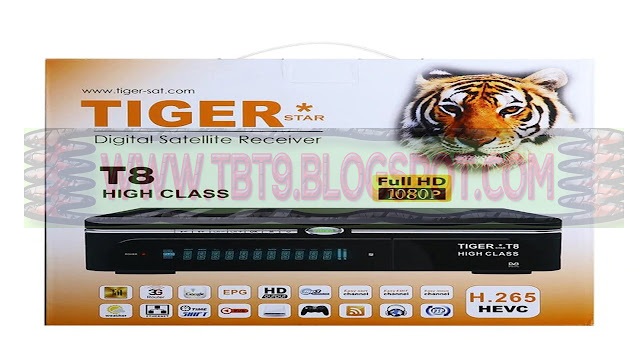 TIGER T8 HIGH CLASS HD RECEIVER POWERVU TEN SPORTS OK NEW SOFTWARE