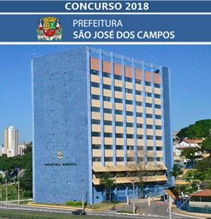 Concurso Prefeitura de São José dos Campos SP 2018