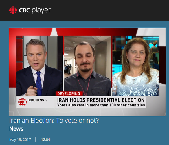 Protests in Toronto, Ottawa, Montreal, and Vancouver over Iran elections