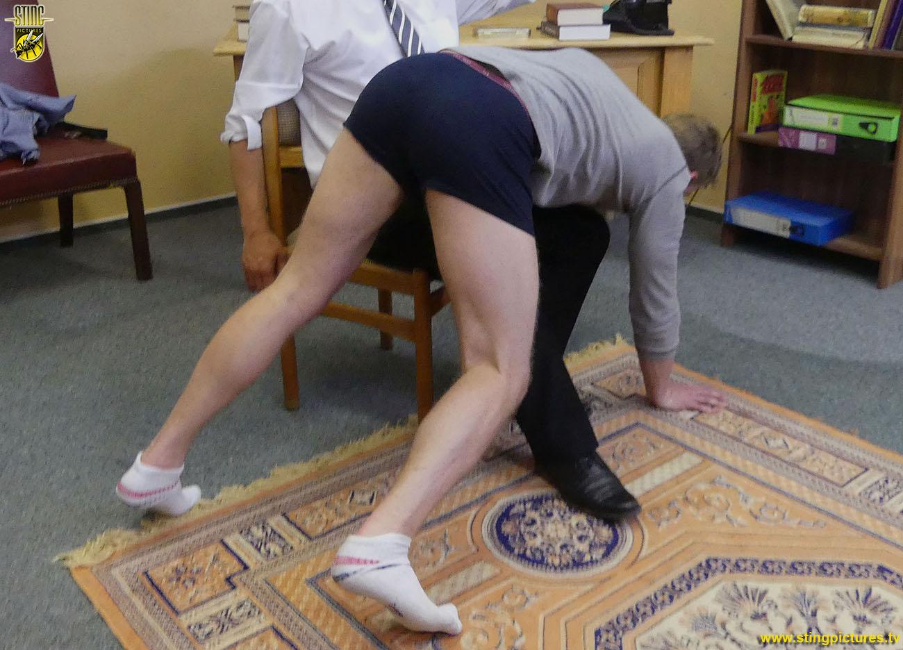 Principal spanks boy bare sex quality pic