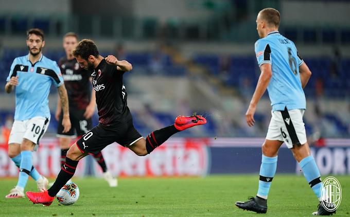 Il Milan rovina il sogno scudetto della Lazio