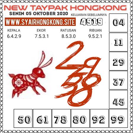 Prediksi Togel New Taypak Hongkong Senin 05 Oktober 2020