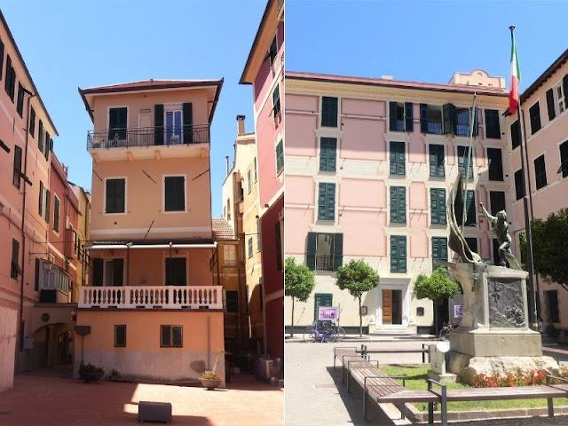 centro storico Laigueglia