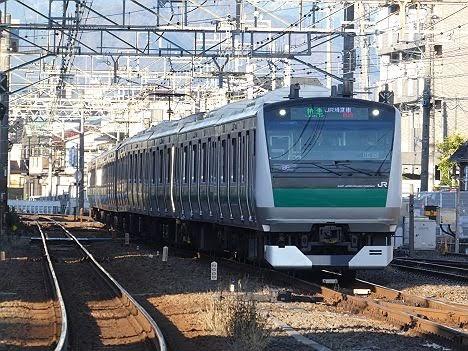 相鉄鉄道 JR埼京線直通 特急 新宿行き1 E233系