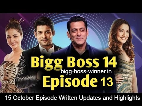15 October episode details, Bigg Boss 14 episode 13 written updates and full highlights