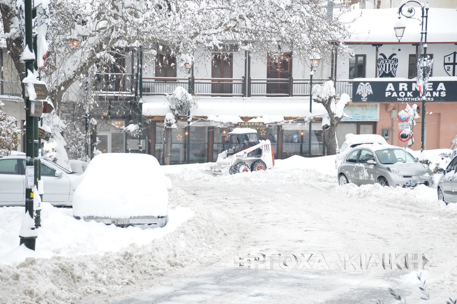 Κακοκαιρία προβλέπεται από αύριο. Κύρια χαρακτηριστικά οι πυκνές χιονοπτώσεις και οι δυνατοί άνεμοι.