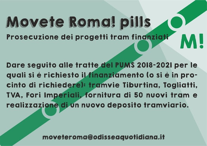 Movète Roma Pillola, numero 16: Le istanze del PUMS