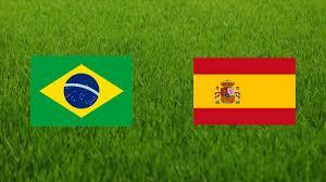 مباراة البرازيل واسبانيا اليوم