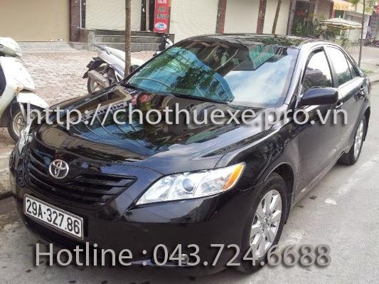 Cho thuê xe Toyota Camry LE