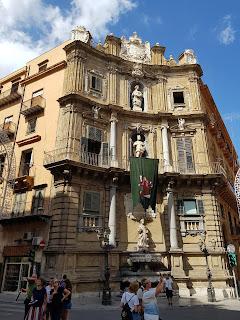 Quattro canti Palerme Palermo