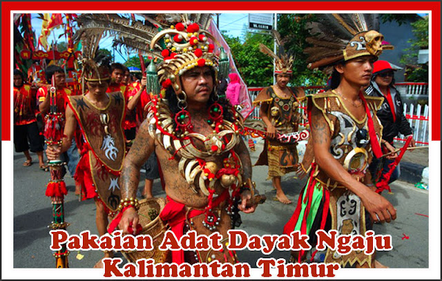 Gambar Pakaian Adat Bulan Kuurung Kalimantan Timur