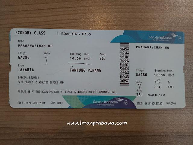 Tiket Garuda Indonesia