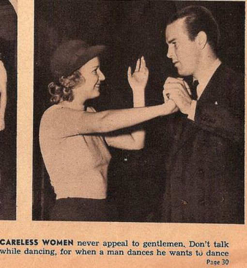 Take a look at what was considered dating advice in the 1930s