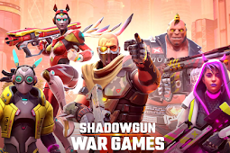 Asyiik nya bermain Shadowgun War Games