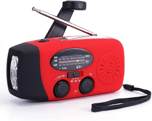 TFTDOUP Powered Solar Emergency Radios