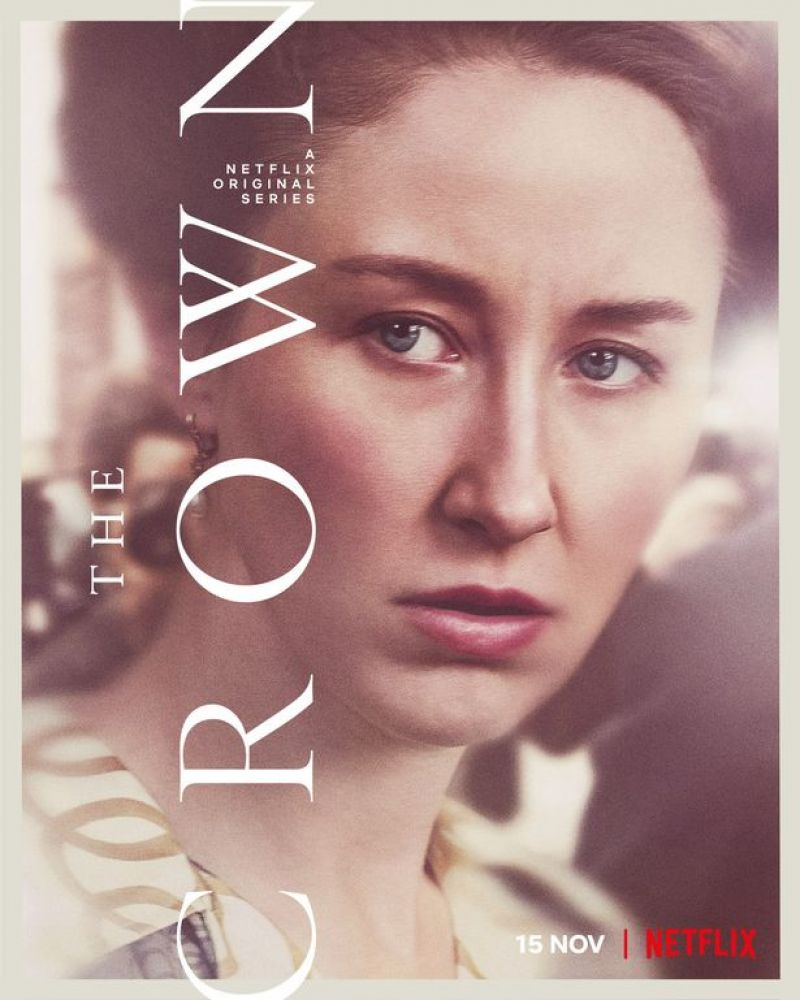 Erin Doherty– The Crown- Season 4 Promos 2020