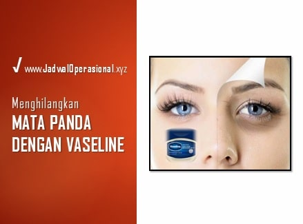 Apakah Vaseline Bisa Menghilangkan Mata Panda