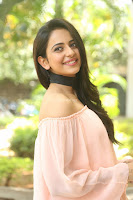 Rakul Preet Singh in lovely Pink Crop Top and Black Trousers at Jaya Janaki Nayaka success meet 023.JPG