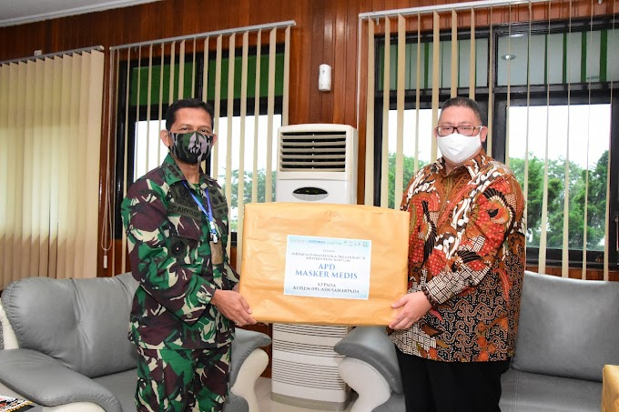Bantuan APD Kepada Korem 091/Aji Surya Natakesuma (ASN)