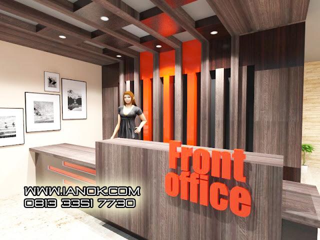 Desain Ruang layanan Perkantoran