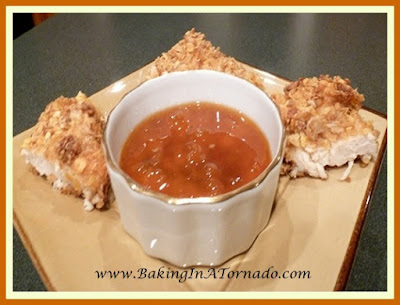 Honey Bunches Chicken with Apricot Sauce | www.BakingInATornado.com | #recipe