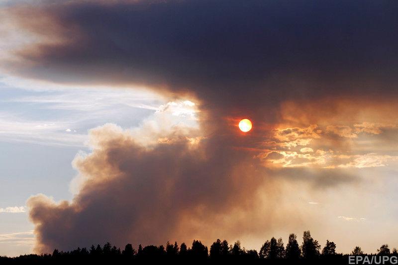 Швеція, лісові пожежі