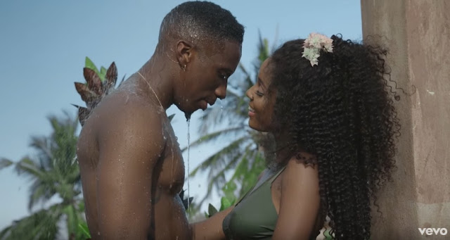 Jux and Vanessa mdee