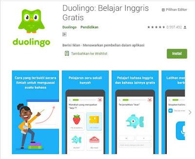 Berikut ini adalah 25 aplikasi belajar bahasa inggris online terbaik untuk android 2020 yang wajib dicoba
