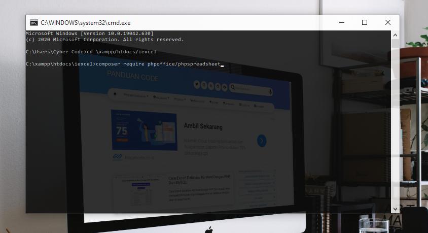 cara install phpspreadsheet