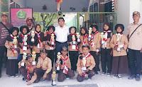 MIN Kota Bima Borong Piala di Ajang Perkemahan HUT ke-58 Pramuka