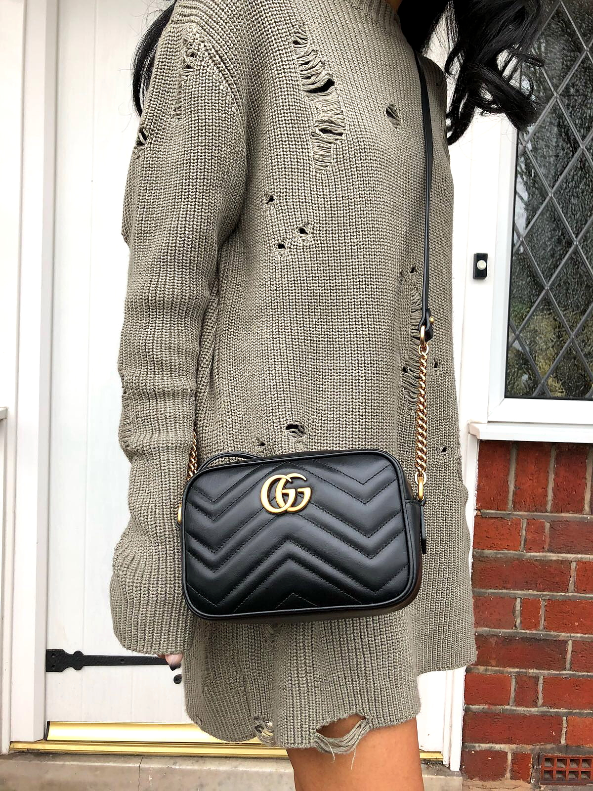 c8c33f5e2901c7 Bag Review - Gucci Marmont Crossbody Bag - The Style Count