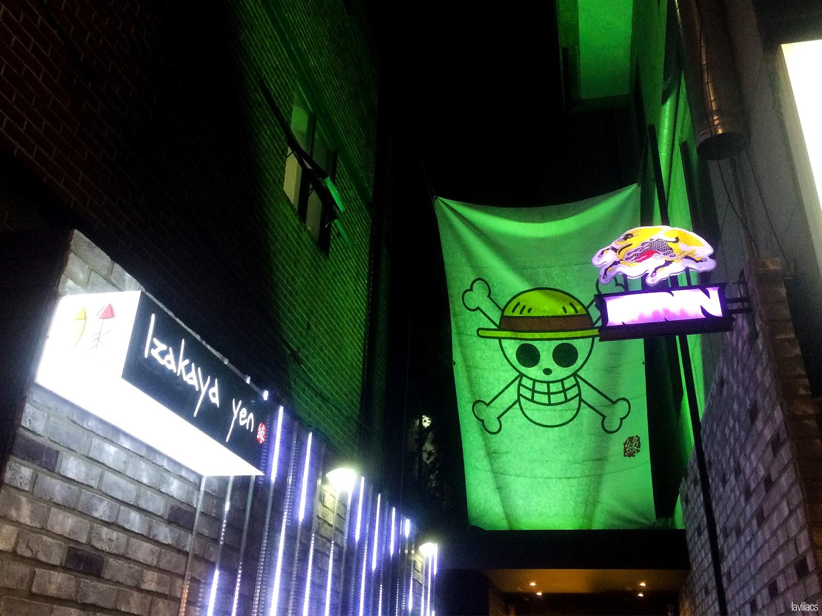 Seoul, Korea - Summer Study Abroad 2014 - Hongdae One Piece Restaurant Bar