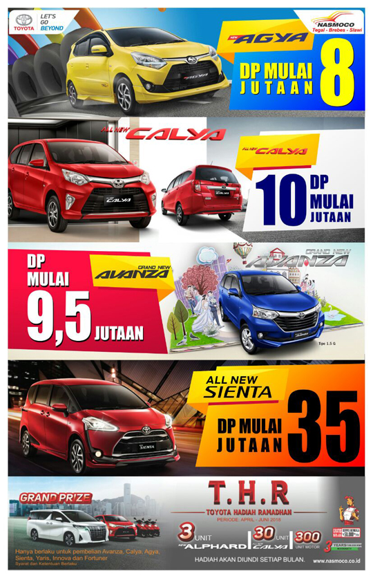 harga mobil toyota nasmoco tegal 2018 lebih murah astra toyota indonesia. Black Bedroom Furniture Sets. Home Design Ideas